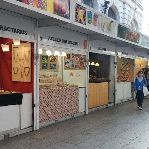 Fira De Ceràmica Creativa Al Portal De L'Àngel De Barcelona