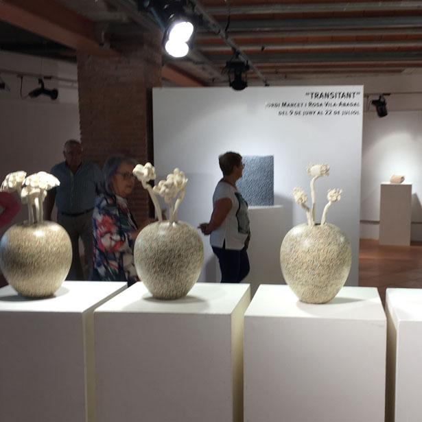 """Inaugurada L'exposició """"Transitant"""" Al Museu De Quart"""