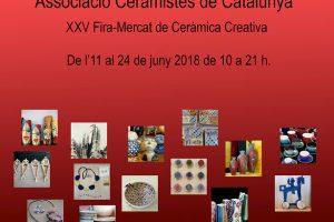XXV Fira De Ceràmica Creativa Al Portal De L'Àngel De Barcelona