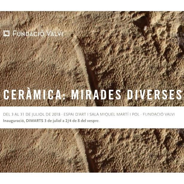 Ceràmica: Mirades Diverses