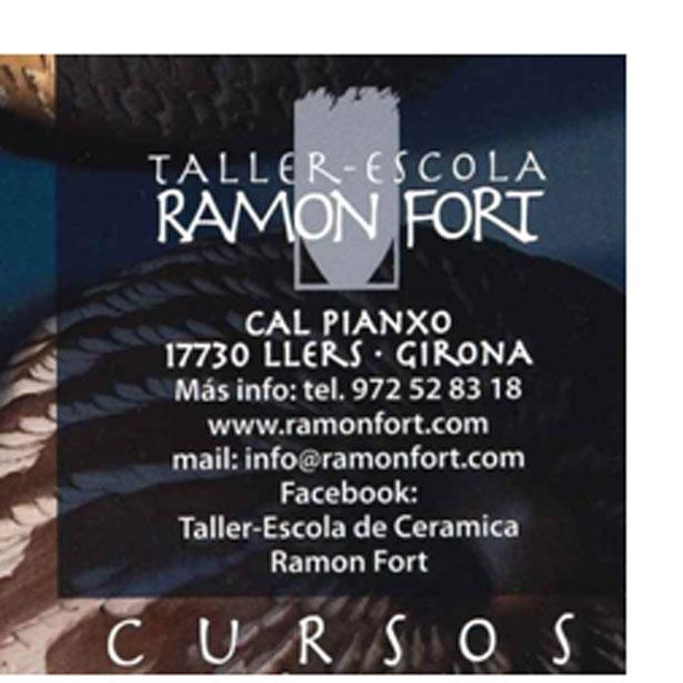 CURSOS ESTIU 2018. TALLER-ESCOLA RAMON FORT