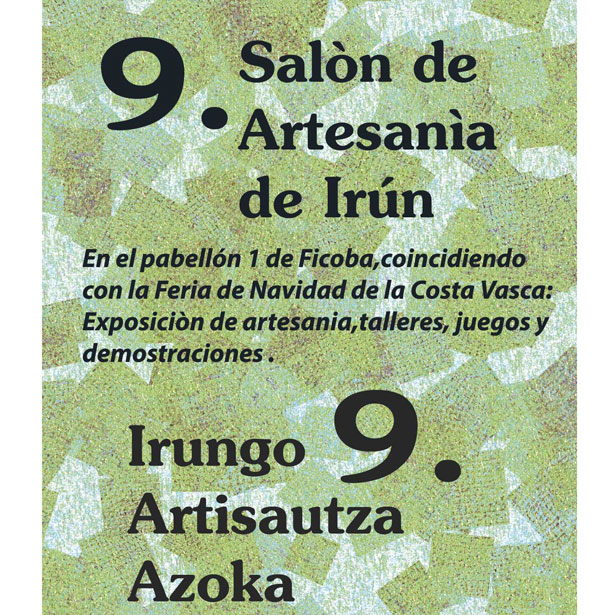 Cartel Artesania Irun Web