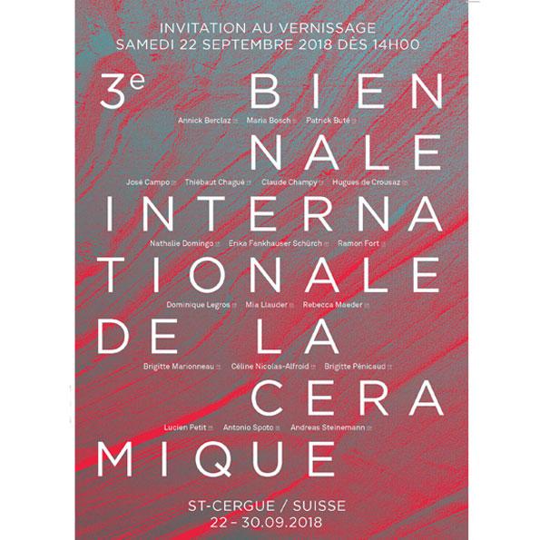 Biennale Internationale De La Céramique. St-Cergue (Suisse)