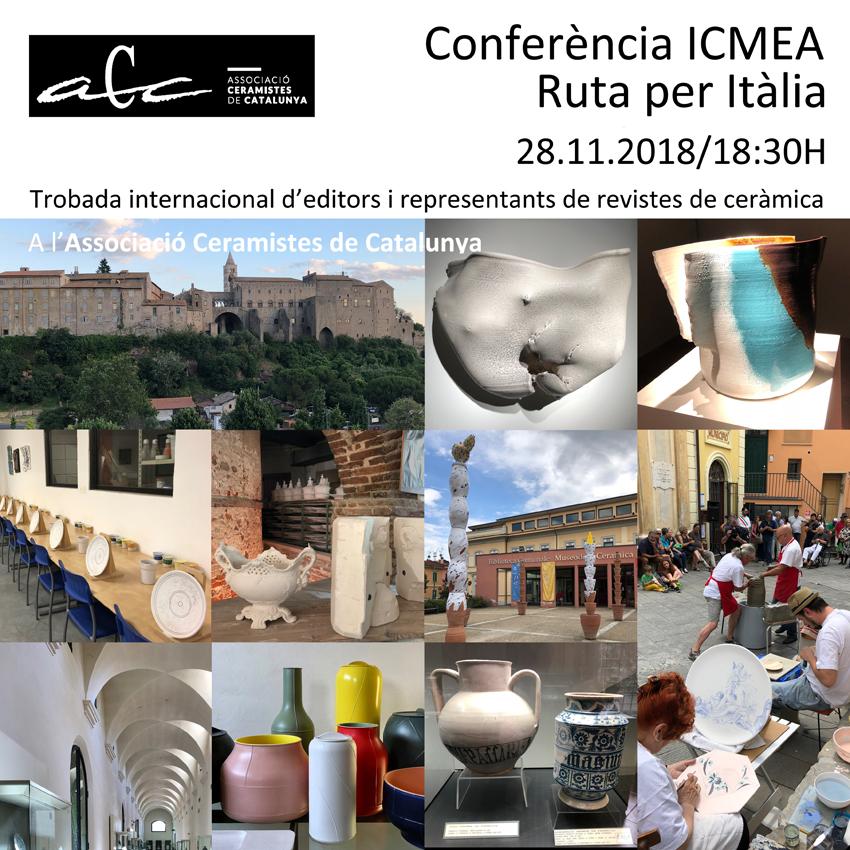 Conferència ICMEA – Ruta Per Itàlia