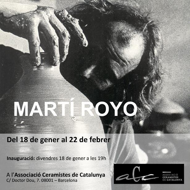 Retrospectiva de MARTÍ ROYO a l'ACC