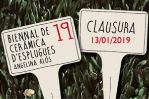 Clausura De La 19 Biennal De Cerámica D'Esplugues Angelina Alós