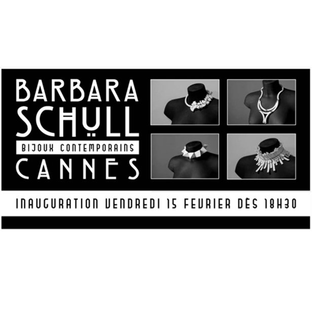 Barbara Schull. Bijoux Contemporains