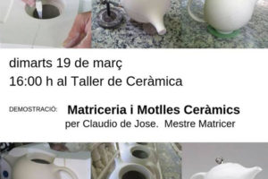 Demostració De Matriceria I Motlles Ceràmics