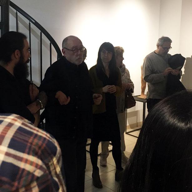 Inauguració A L'ACC De Raul Lobo Baroja