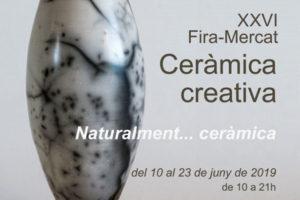 Fira De Ceràmica Creativa De L'ACC Al Portal De L'Àngel De Barcelona