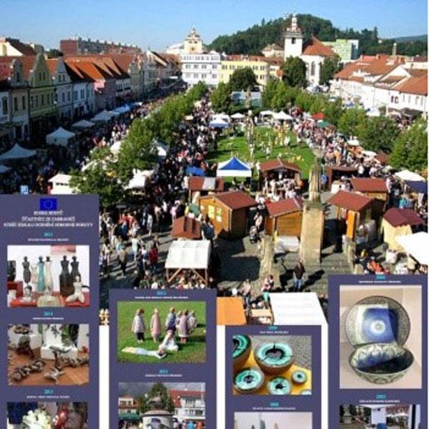 Mercat De Ceràmica A Beroun (República Txeca)