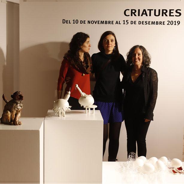 """Inauguració De L'exposició """"Criatures"""" A Quart"""