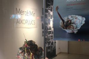 """Inauguració De L'exposició """"Aixoplucs"""" De Mercè Mir, A L'ACC"""