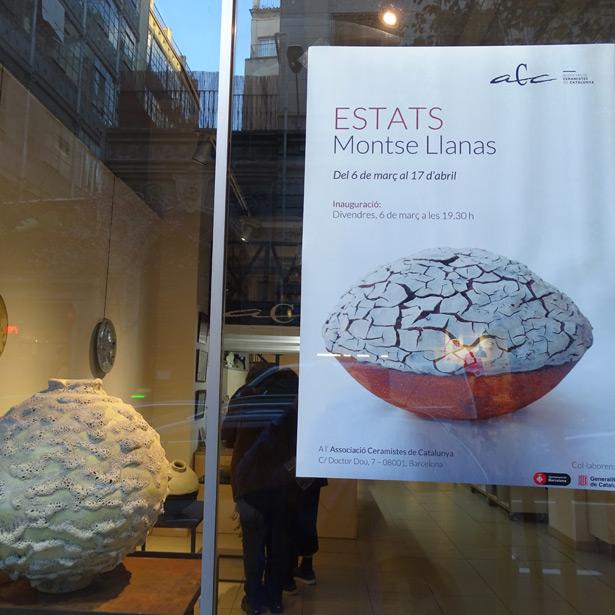 """Inauguració De L'exposició """"Estats"""" De Montse Llanas"""