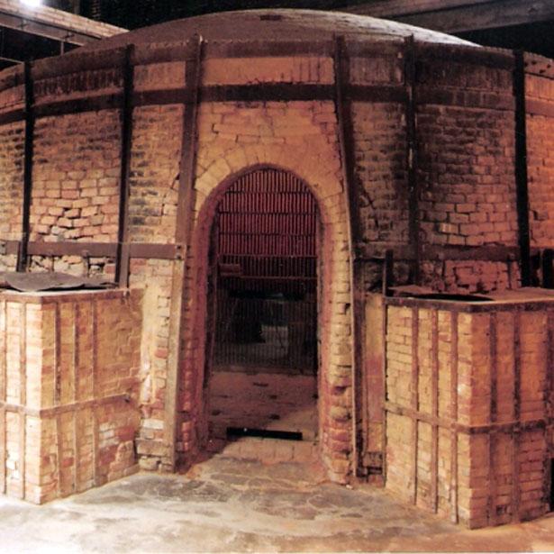 Forn De Flama Invertida Terracotta Museu 73