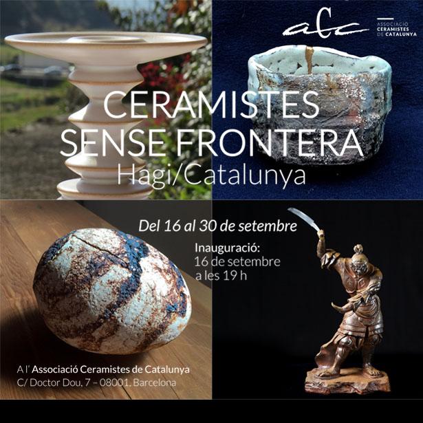 Cancel·lada L'exposició CERAMISTES SENSE FRONTERA