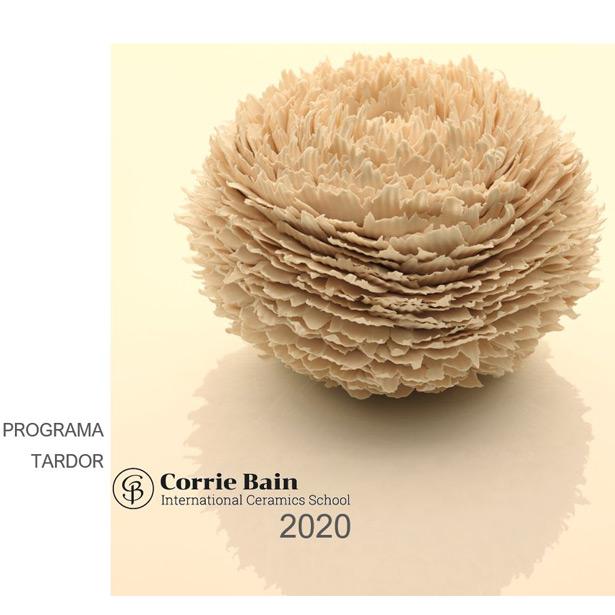 Corrie Bain Ceramics. Cursos Tardor 2020