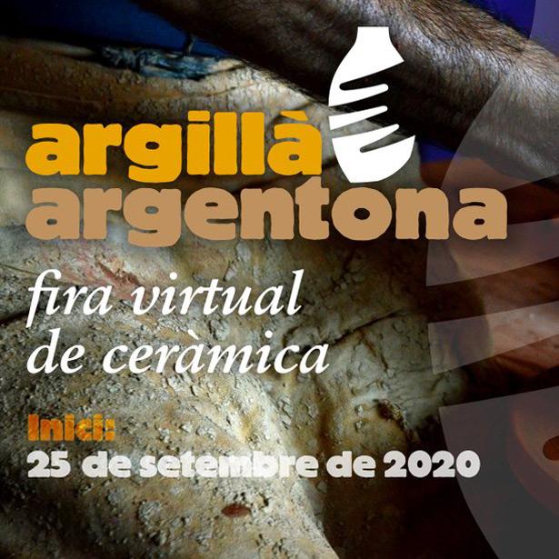 ARGILLÀ ARGENTONA 2020 FIRA VIRTUAL DE CERÀMICA