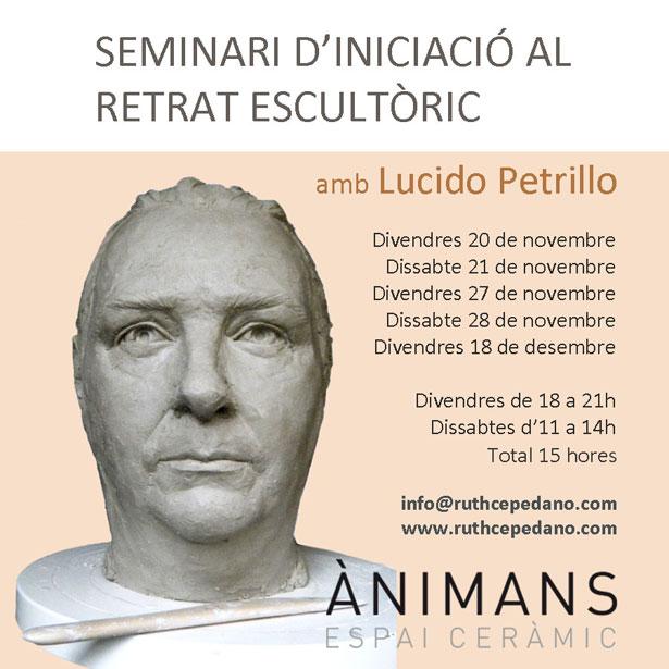 SEMINARI D'INICIACIÓ AL RETRAT ESCULTÒRIC