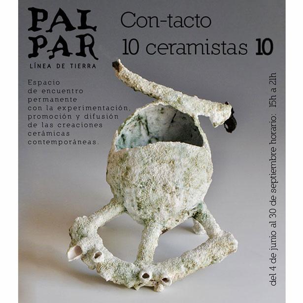"""""""Con-tacto. 10 Ceramistas 10"""""""
